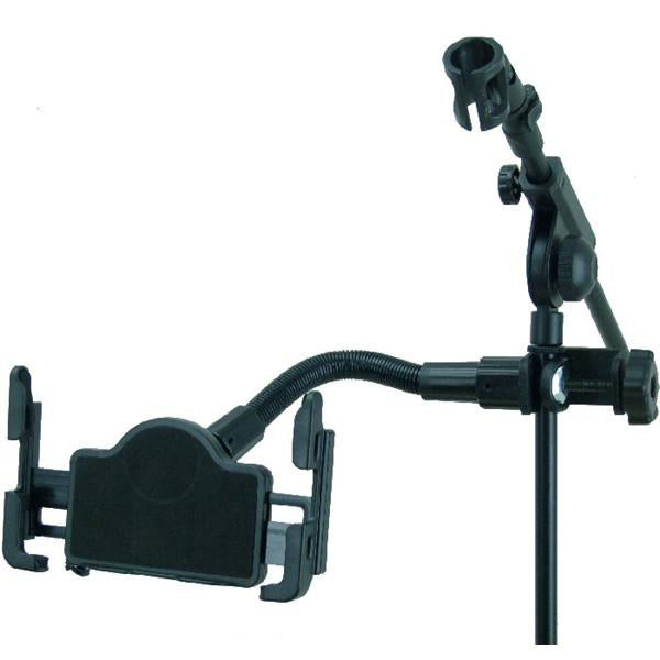 Deluxe 12inch Flexible Music - Mic Stand Tablet Mount for the Apple iPad Mini 2019 (sku 50581) - BuyBits Ltd UK