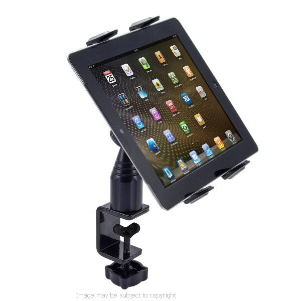 TAB085 Arkon iPad AIR Heavy Duty Music Stand - Table - Desk Mount Tablet PC Holder (sku 18800)