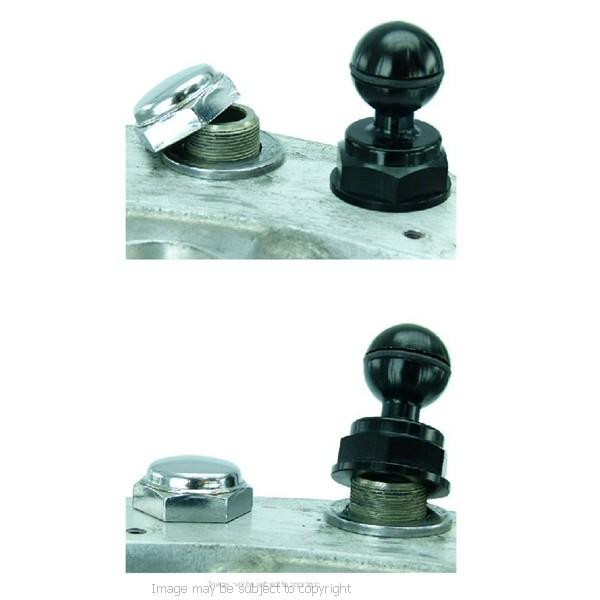 BuyBits Motorcycle Yoke 40 Nut Cap Mount Samsung Galaxy S10 Lite (sku 50790) - BuyBits Ltd UK
