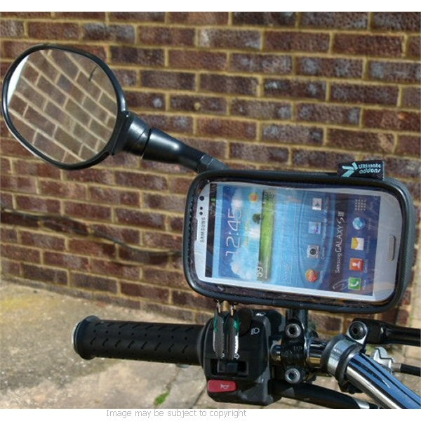 Waterproof Galaxy S3 GT-i9300 Scooter Mirror Mount (sku 14986)