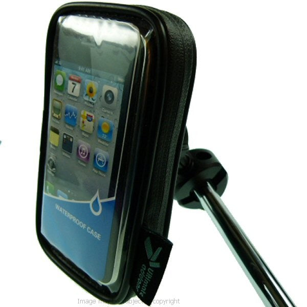 Waterproof iPhone 5S Cycle Bike Crossbar Mount (sku 17546)