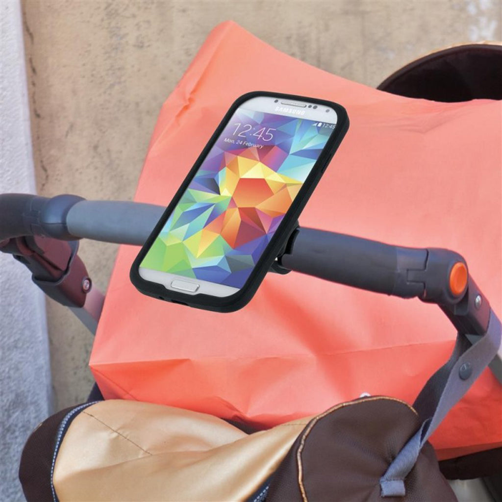 Tigra Fitclic Stroller - Trolley Strap Mount with RainGuard for iPhone XR (sku 45249)