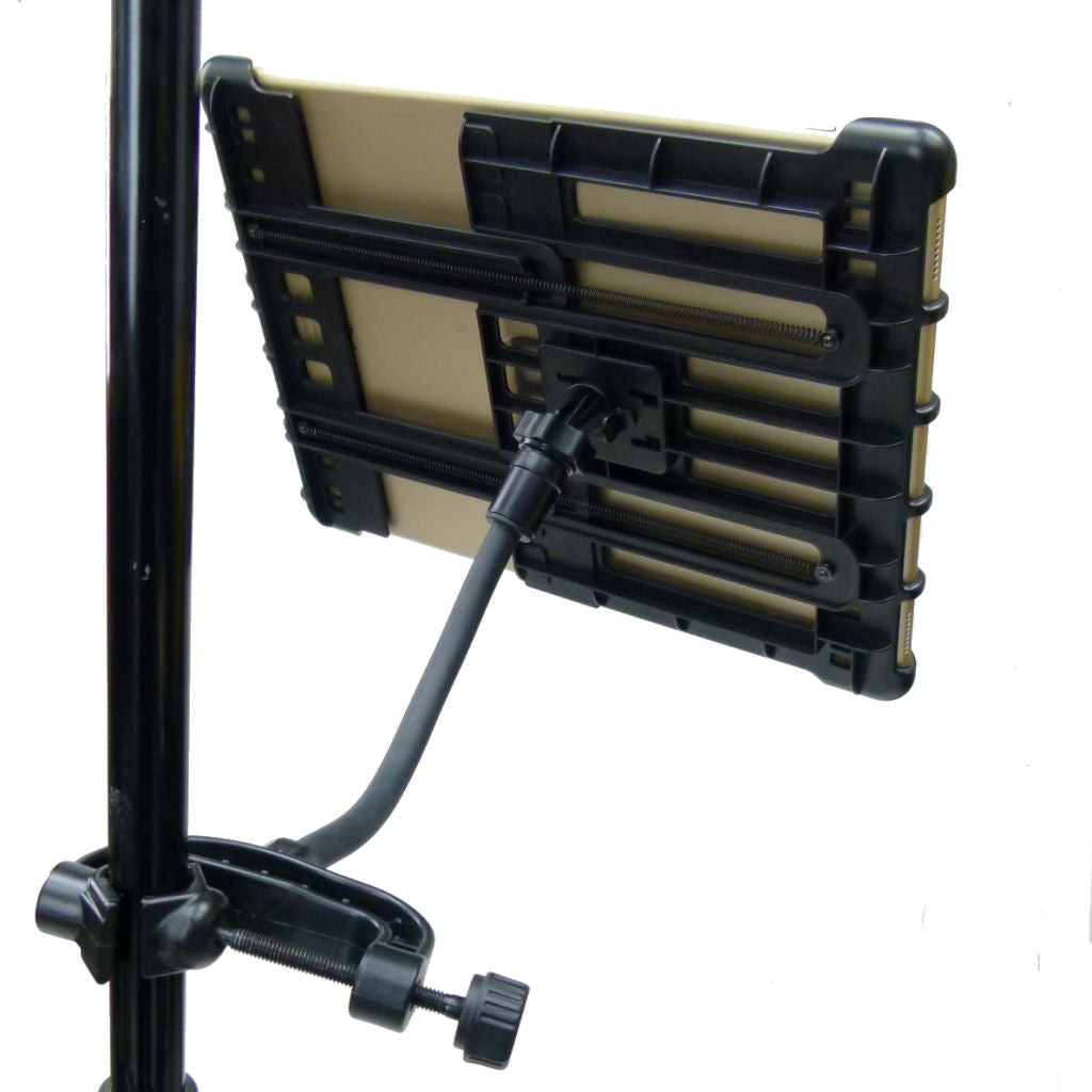 Lightweight Music - Microphone Stand Tablet Mount for iPad PRO 12.9 (2018) (sku 43180)