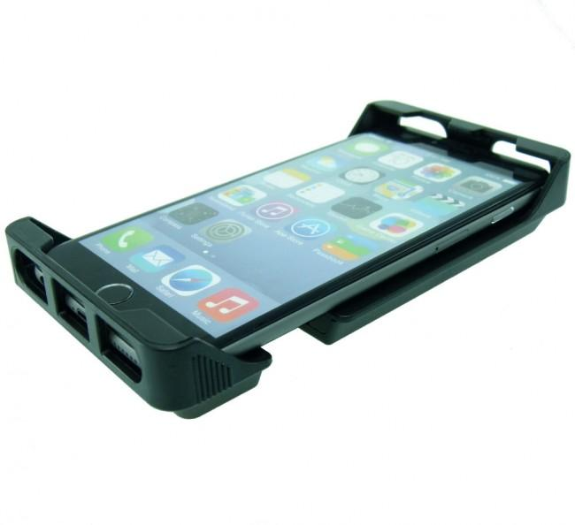 Adjustable Robust Golf Trolley Clamp Mount with Rain Cover for iPhone 11 (sku 49764) - BuyBits Ltd UK