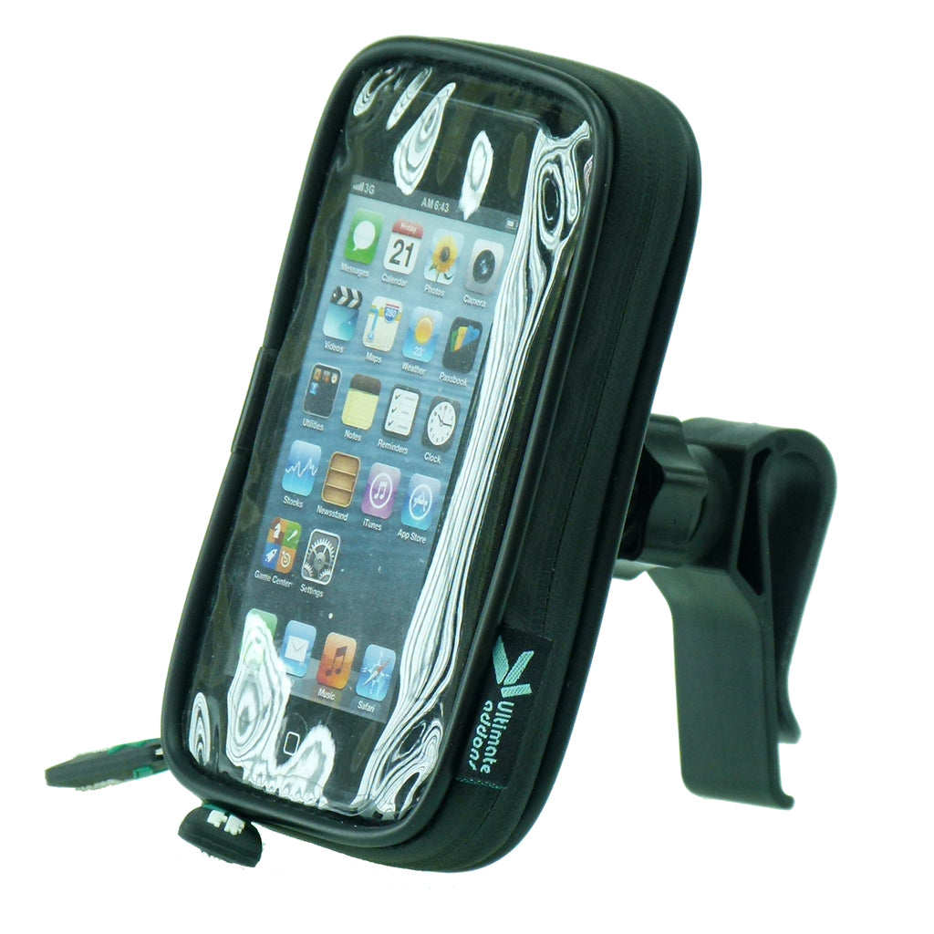 Waterproof Golf Bag Clip Phone Mount for the Apple iPhone SE (sku 34874)