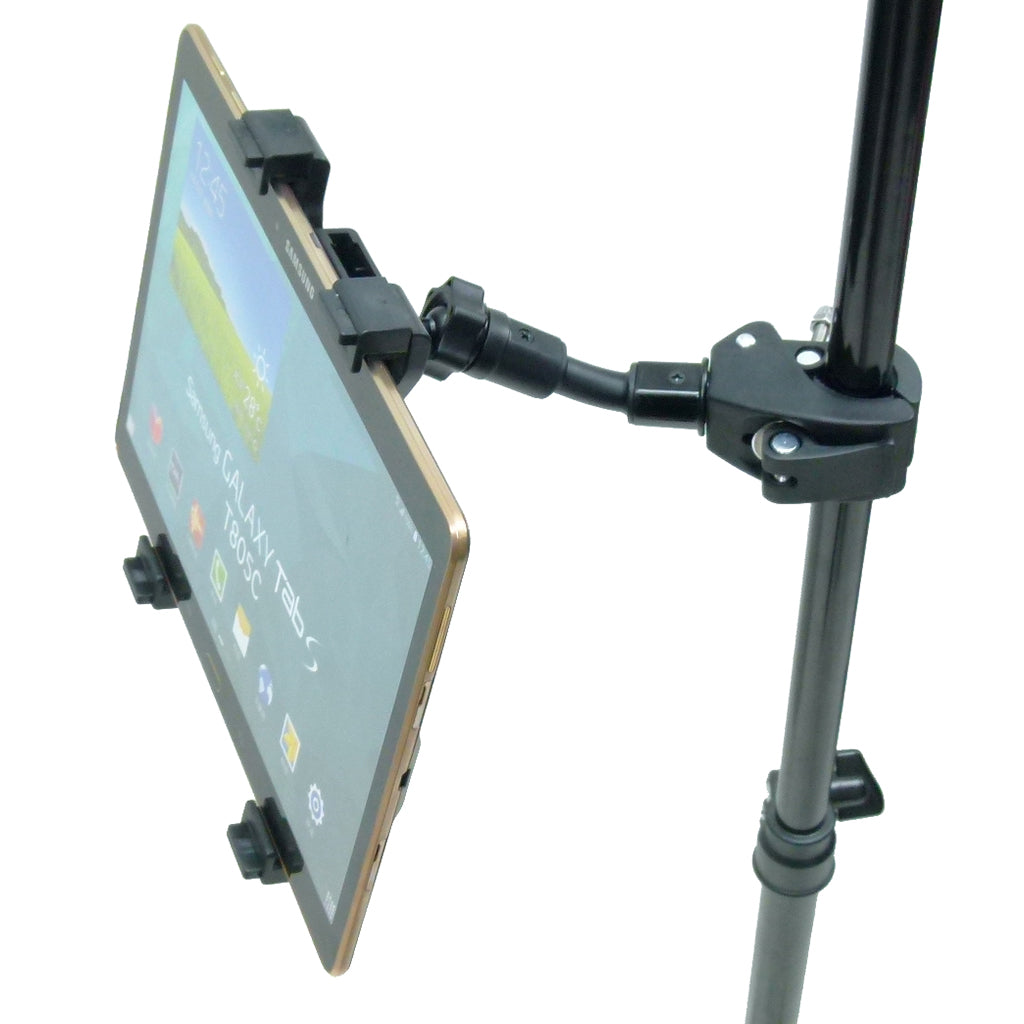 Compact Music Microphone Stand Quick Fix Holder for Samsung Galaxy TAB S 10.5 (sku 34958)