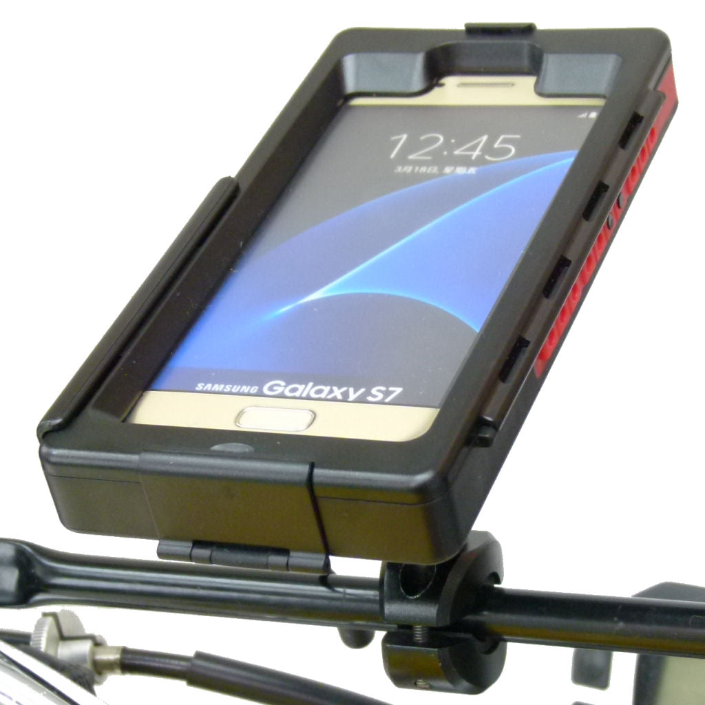 Motorcycle Bike Crossbar Mount & TiGRA Case for Galaxy S7 (sku 35135)