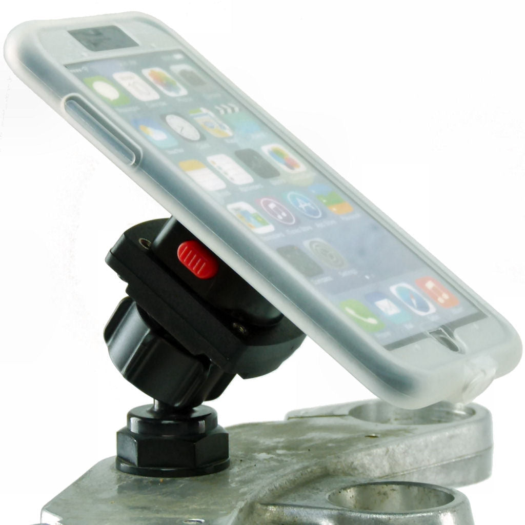 "Yoke 40 Motorcycle Nut Mount & TiGRA MountCase Holder for iPhone 7 PLUS (5.5"")  (sku 35846)"