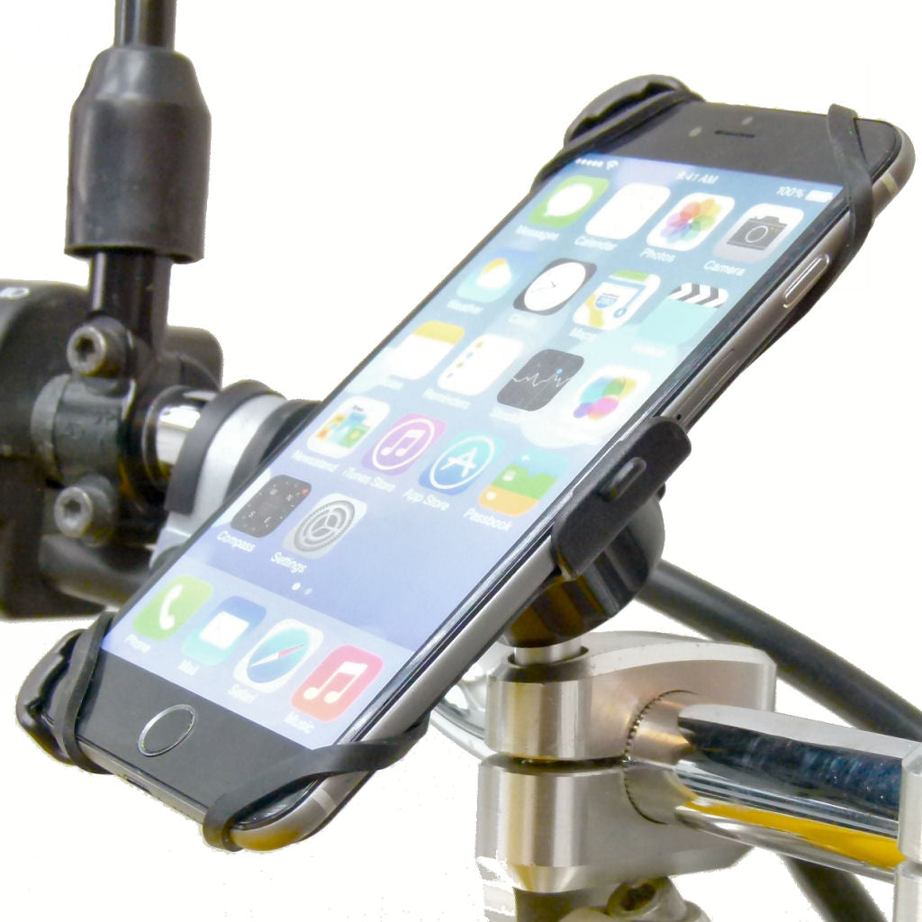 "Dedicated Motorcycle M8 Handlebar Top Clamp Phone Mount for iPhone 6S PLUS (5.5"") (sku 36409)"