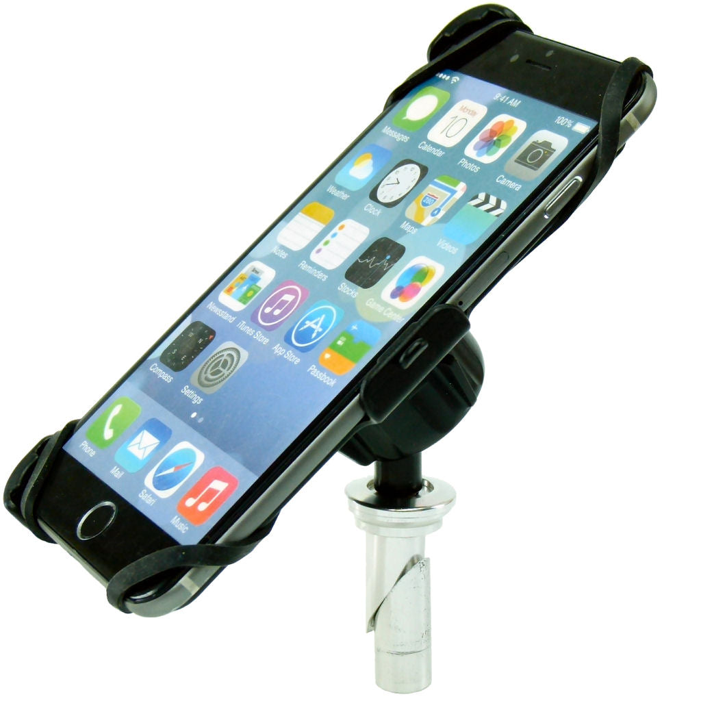 "Dedicated 13.3-14.7mm Fork Stem Sports Motorcycle Mount for iPhone 6 PLUS (5.5"")  (sku 36439)"