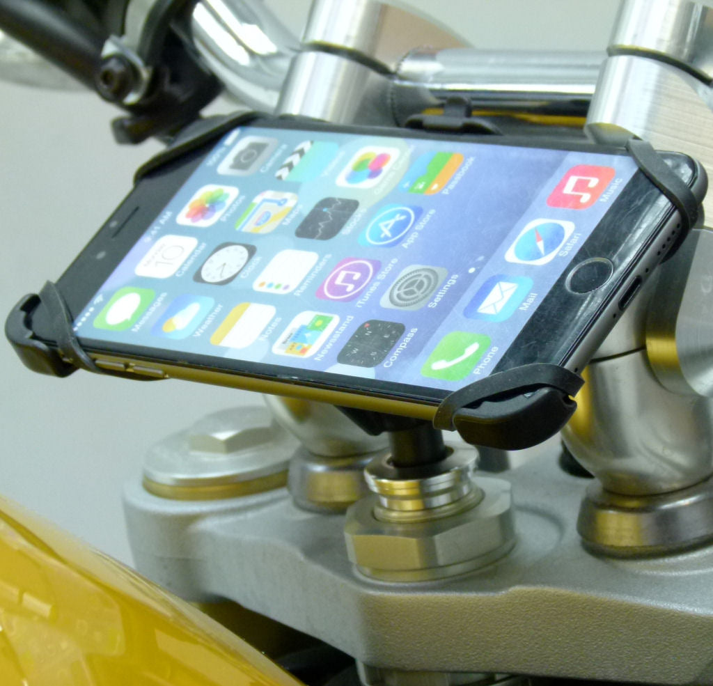 "Dedicated 17.5-20.5mm Fork Stem Sports Motorcycle Mount for iPhone 8 PLUS (5.5"")  (sku 44514)"
