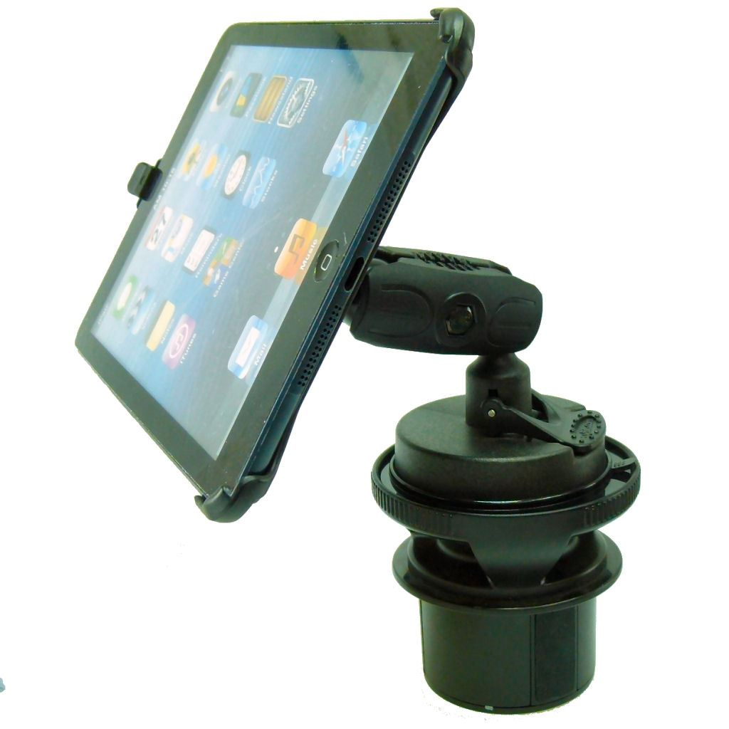 Dedicated Vehicle Car Drink - Cup Holder Base Tablet Mount for iPad Mini 2019 (sku 50598) - BuyBits Ltd UK