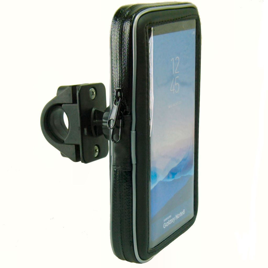 Waterproof Bike Motorcycle Handlebar Phone Mount for Samsung Galaxy S10 Lite (sku 50716) - BuyBits Ltd UK