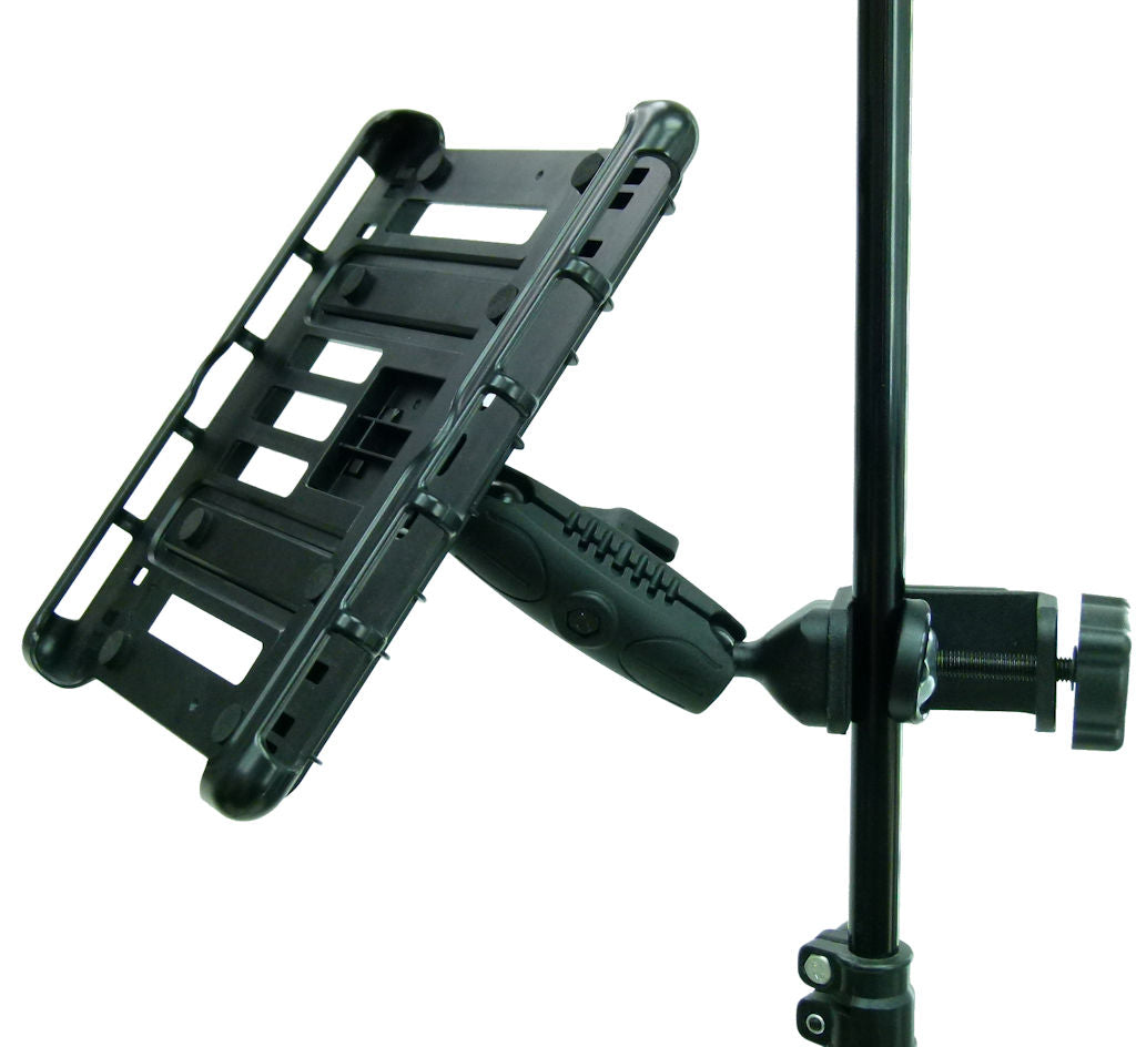 "BuyBits Music - Microphone Stand Tablet Clamp Mount Holder for Microsoft Surface Pro 4 12.3"" (sku 33194)"