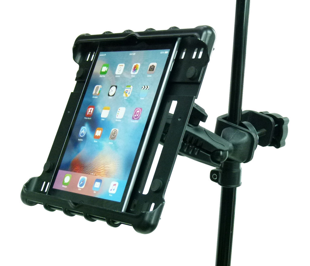 BuyBits Music - Microphone Stand Tablet Clamp Mount Holder for iPad 2 Mini (sku 33145)