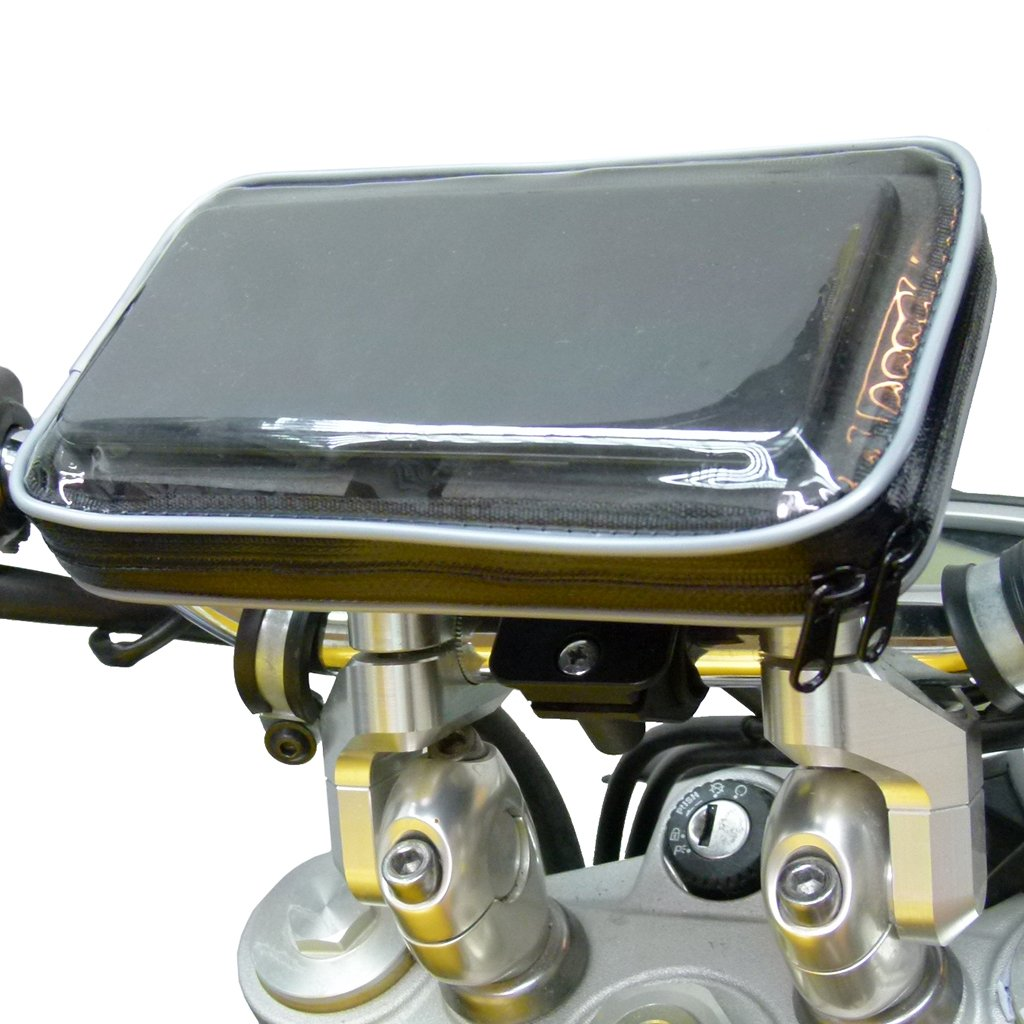 Waterproof Galaxy Note 10 Lite Motorcycle Handlebar Mount (sku 50880) - BuyBits Ltd UK