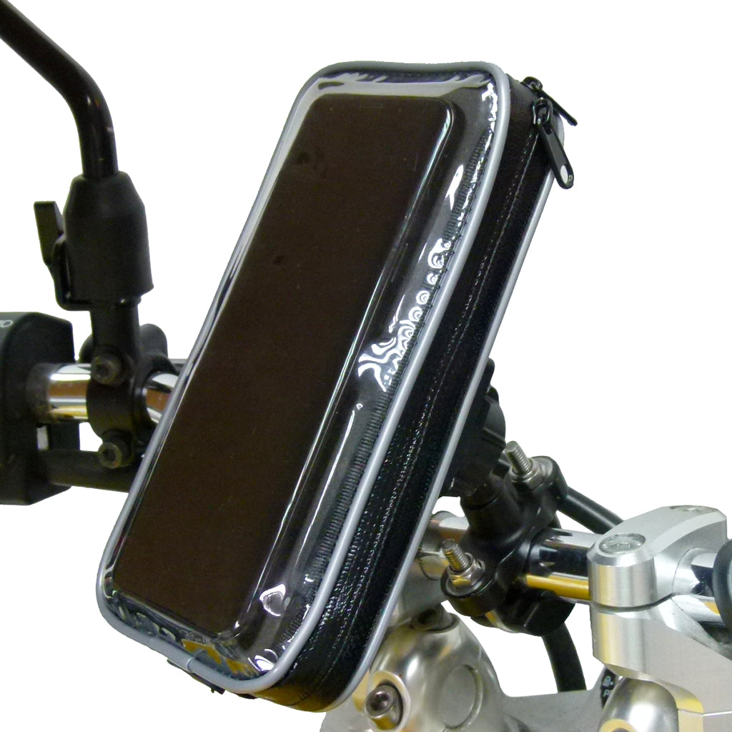 Strong Metal U-Bolt Motorcycle Handlebar Mount for Samsung Galaxy Note 9 (SKU 41927)