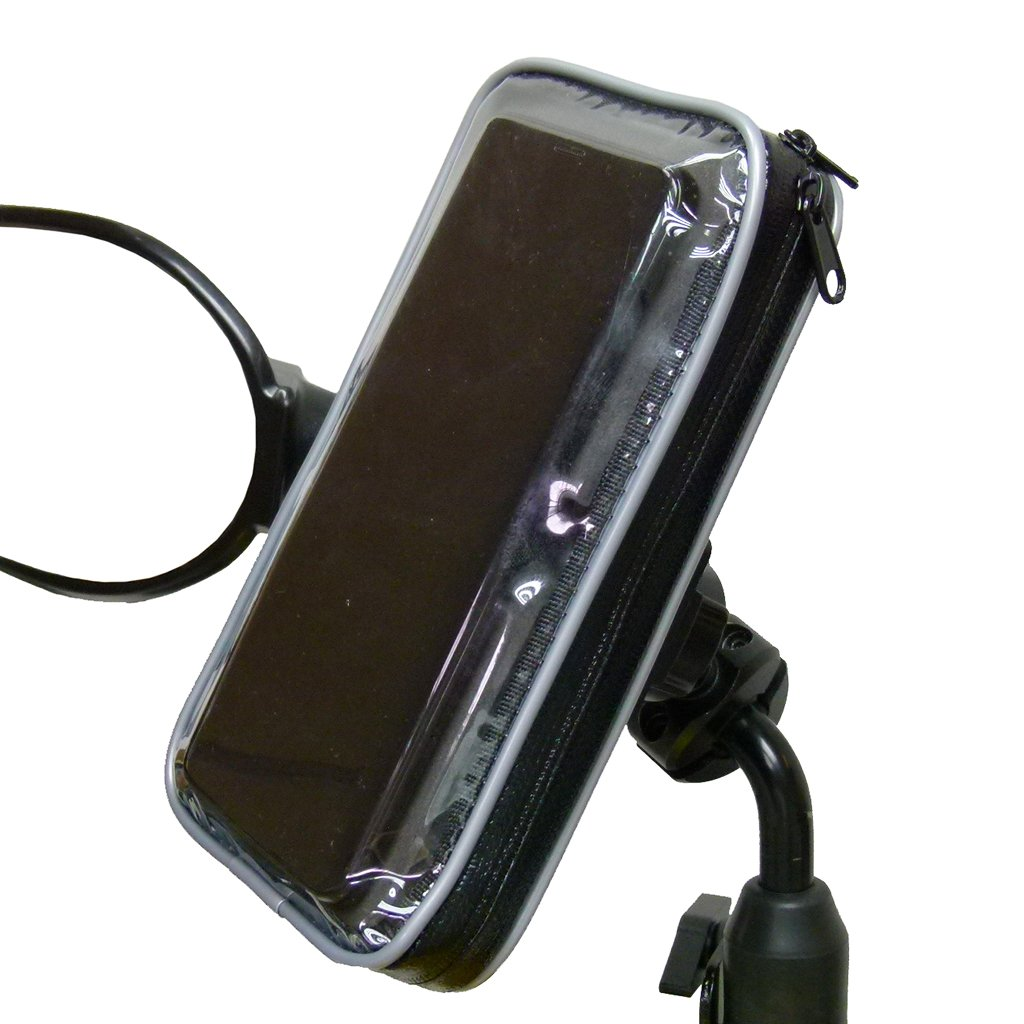 BuyBits Scooter - Moped Mirror Mount for Samsung Galaxy Note 10 Lite (sku 50886) - BuyBits Ltd UK