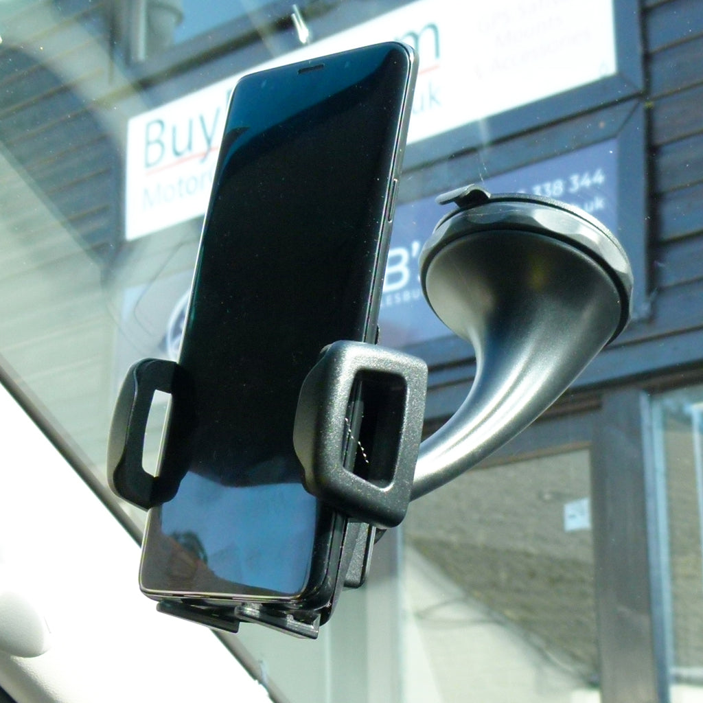 Twist & Lock Car Window Windscreen Mount for Samsung Galaxy S10e (sku 44168)