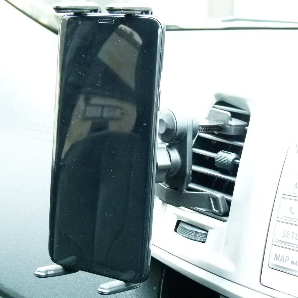 Easy Fit Car Air Vent Mount with Slim Grip Cradle for Samsung Galaxy S10 Lite (sku 50728) - BuyBits Ltd UK