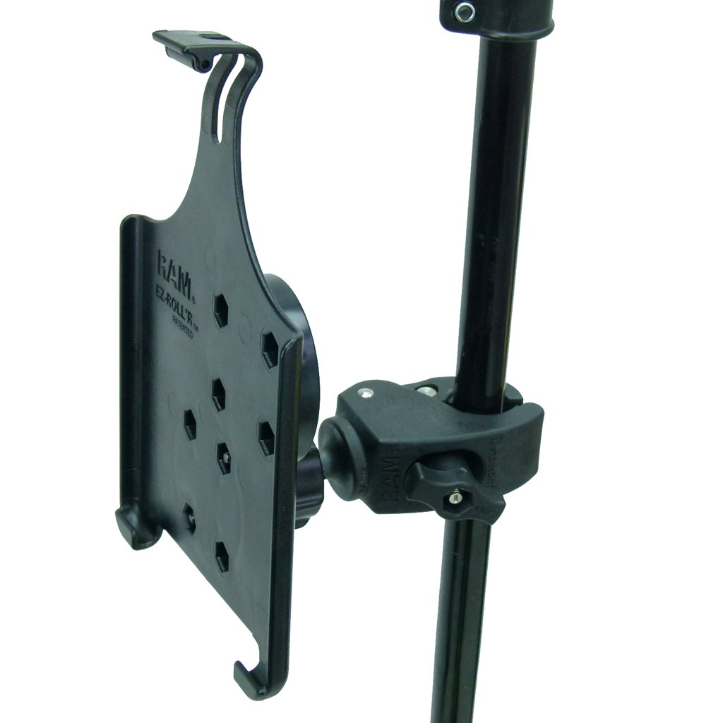 Tough Clamp Music - Microphone - Gig Stand Holder Mount for Apple iPad Mini 2019 Gen (sku 50544) - BuyBits Ltd UK