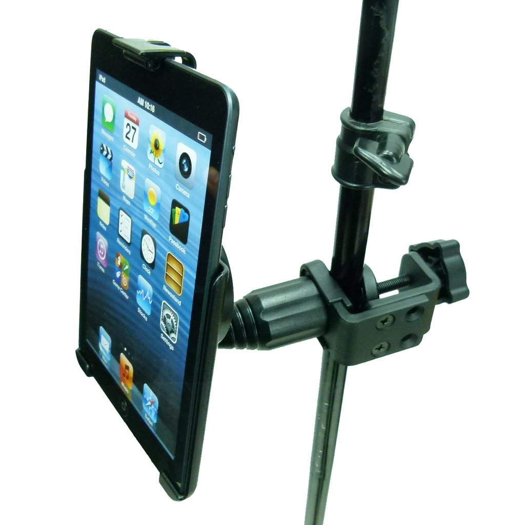 Dedicated Heavy Duty Music Stand - Table - Desk Mount for Apple iPad Mini 2019 (sku 50539) - BuyBits Ltd UK