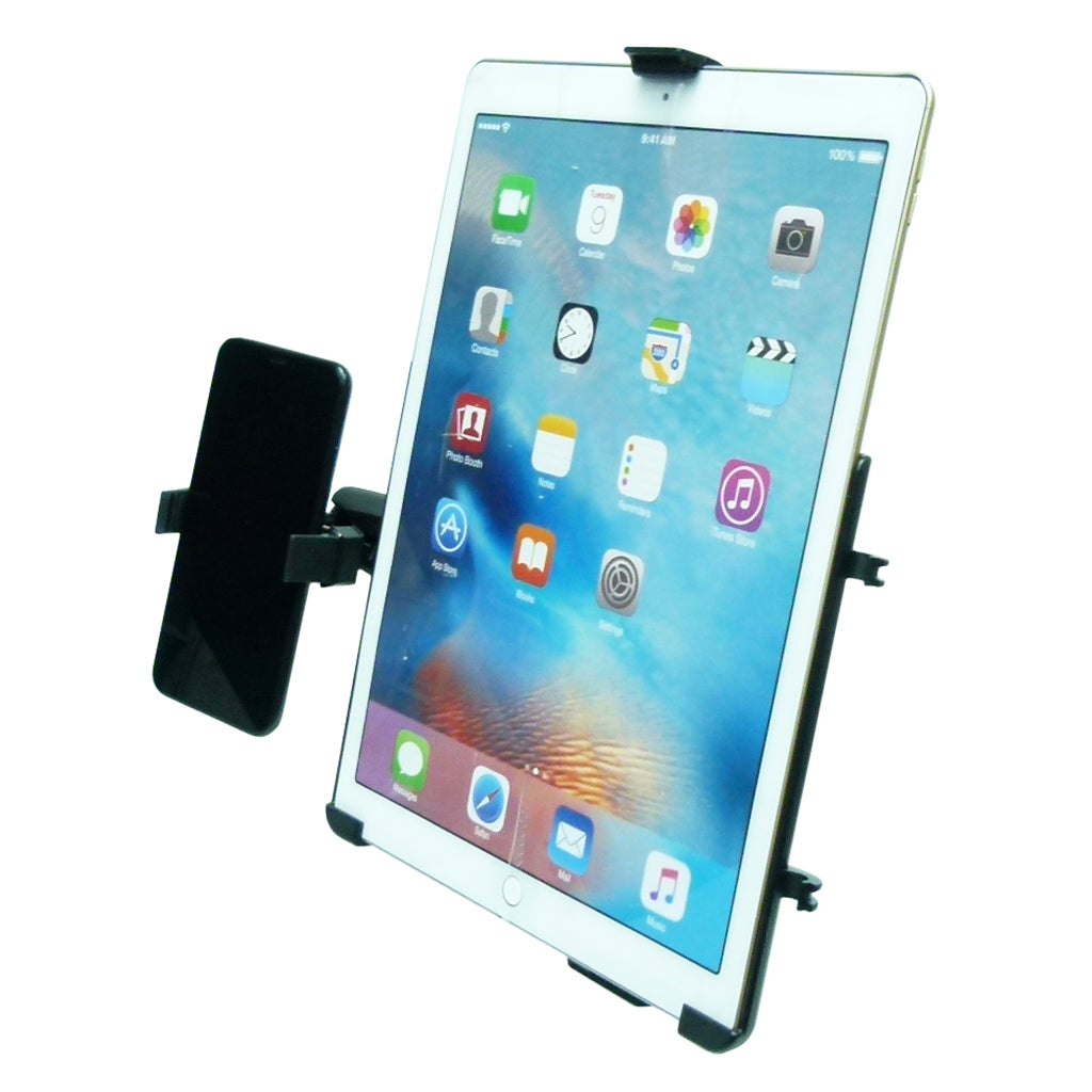 "Permanent Screw Fleet Dash Multiple Mount Holds iPad PRO 12.9"" and Phone (sku 44117)"