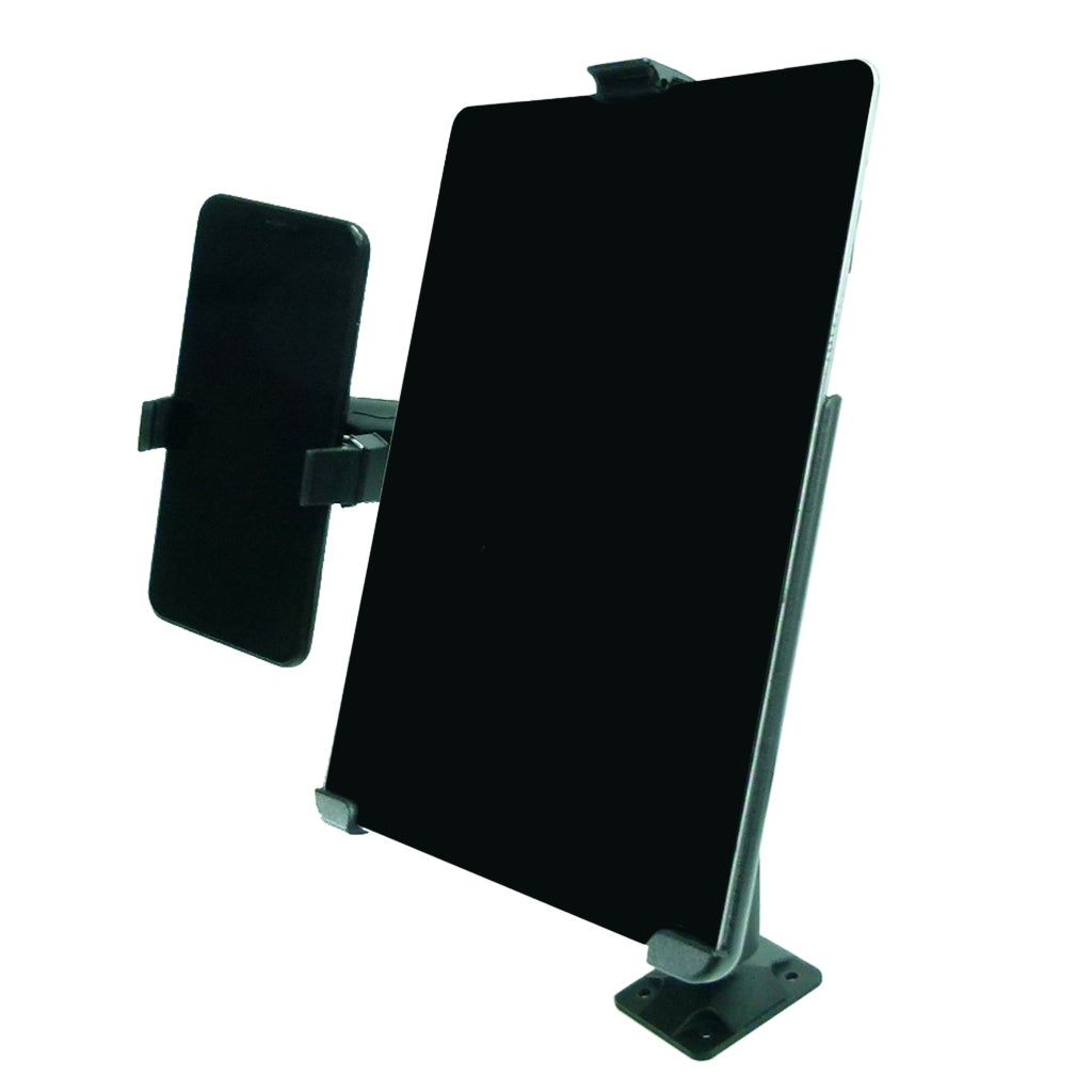 Permanent Screw Fleet Dash Multiple Mount Holds iPad 3 and Phone (sku 44132)