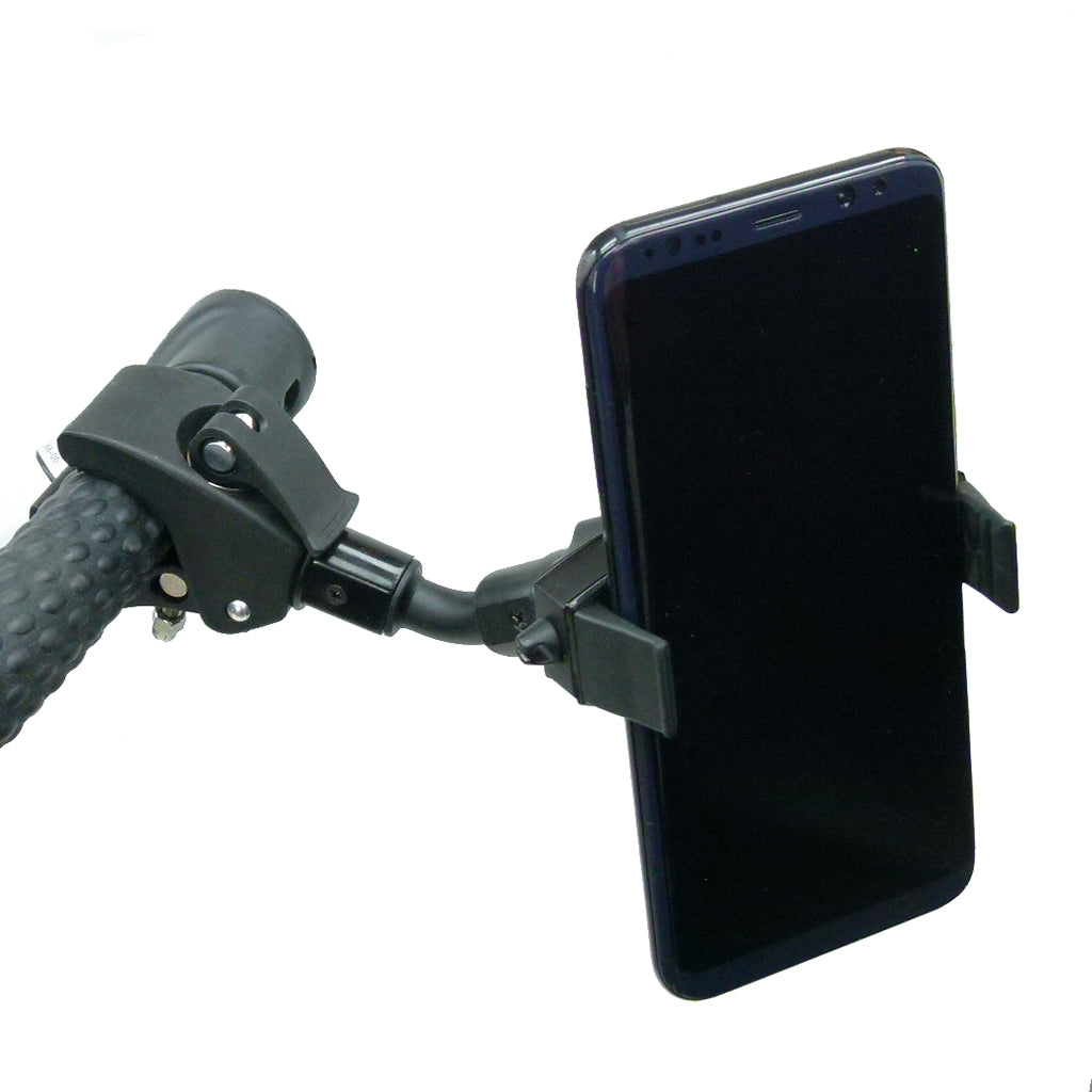 Compact Quick Fix Adjustable Golf Trolley Mount for Samsung Galaxy S10 5G (sku 44599)