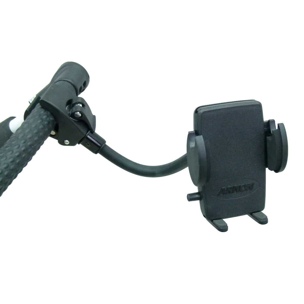 Quick Fix Golf Trolley Mount Adjustable Cradle for Samsung Galaxy S10 5G (sku 44608)