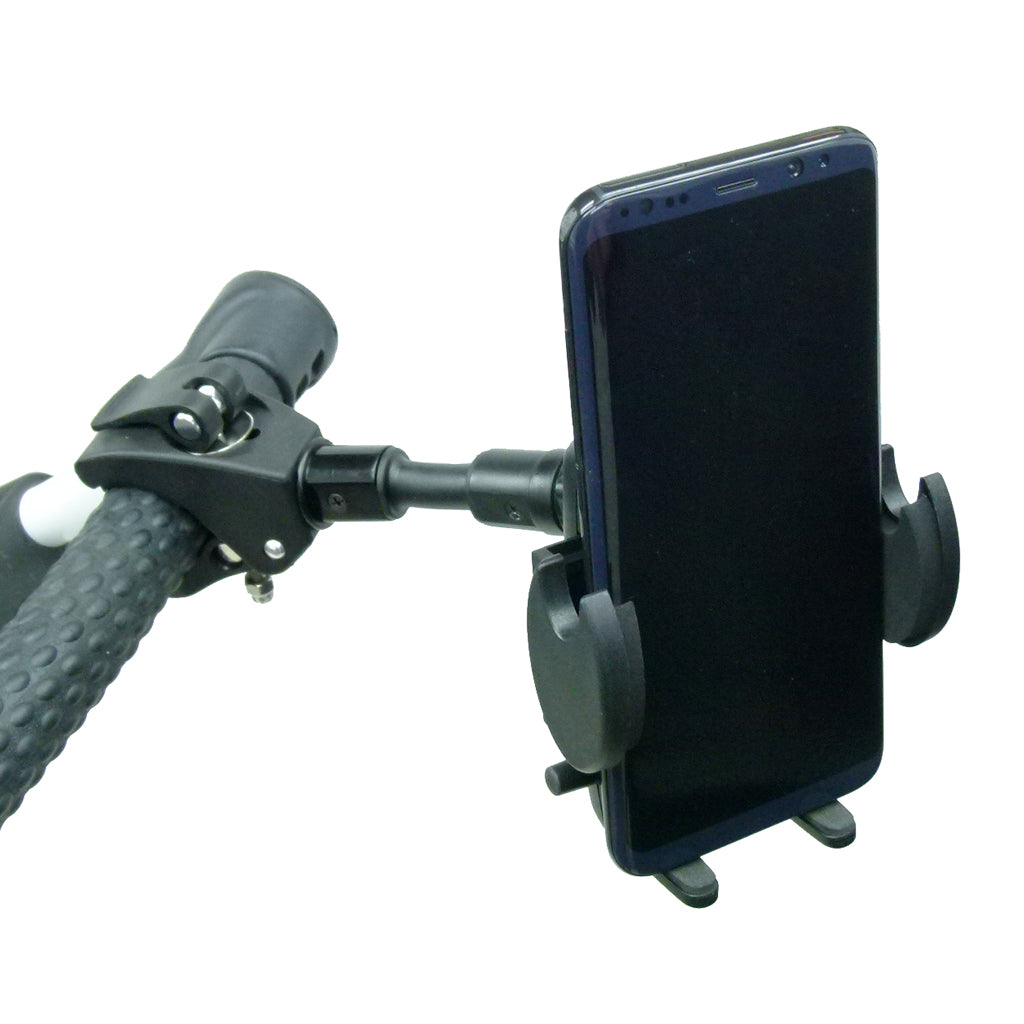 Compact Quick Fix Golf Trolley Mount Adjustable Cradle for Samsung Galaxy S9 (sku 44639)