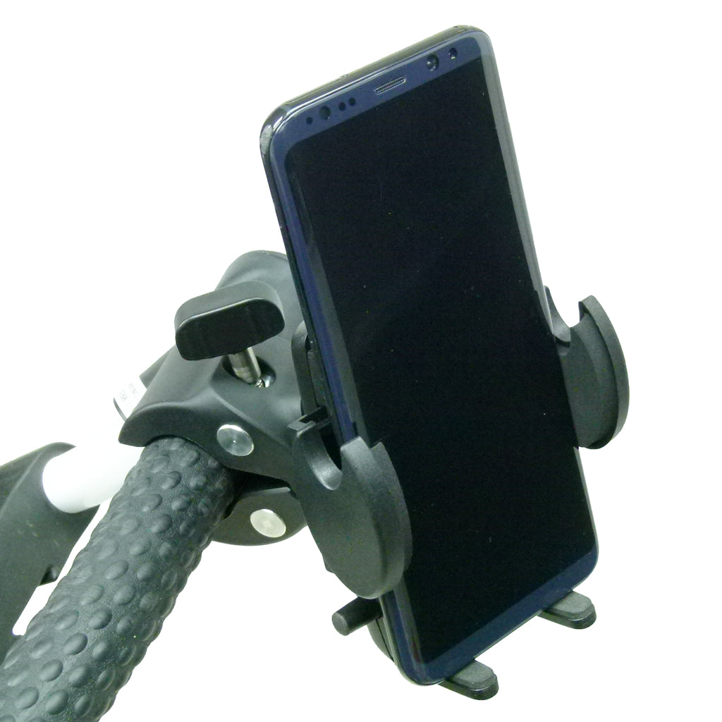 Golf Trolley Adjustable Clamp Mount for Samsung Galaxy S8 (sku 44665)