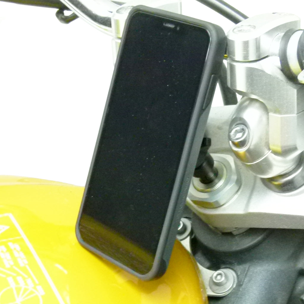 Universal Motorcycle Stem Mount and TiGRA NEO Case for iPhone 8 PLUS (sku 45604)