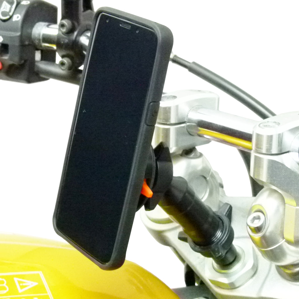 Extended Universal Motorcycle Stem Mount & TiGRA NEO LITE Case for OnePlus 5 (sku 45679)