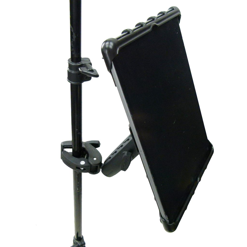 "Extended Music Stand Robust Clamp Tablet Holder for iPad PRO 12.9"" (2018) (sku 49594) - BuyBits Ltd UK"