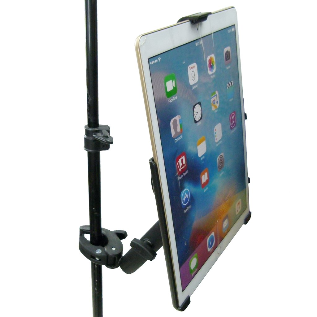 "Extended Dedicated Music Stand Robust Clamp Tablet Holder for iPad PRO 12.9"" (sku 49600) - BuyBits Ltd UK"
