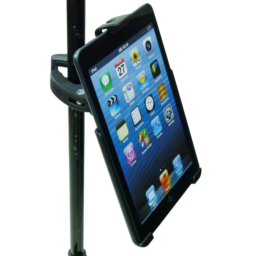 Dedicated Music Stand Robust Clamp Tablet Holder for iPad Mini 1-3 (sku 49601) - BuyBits Ltd UK