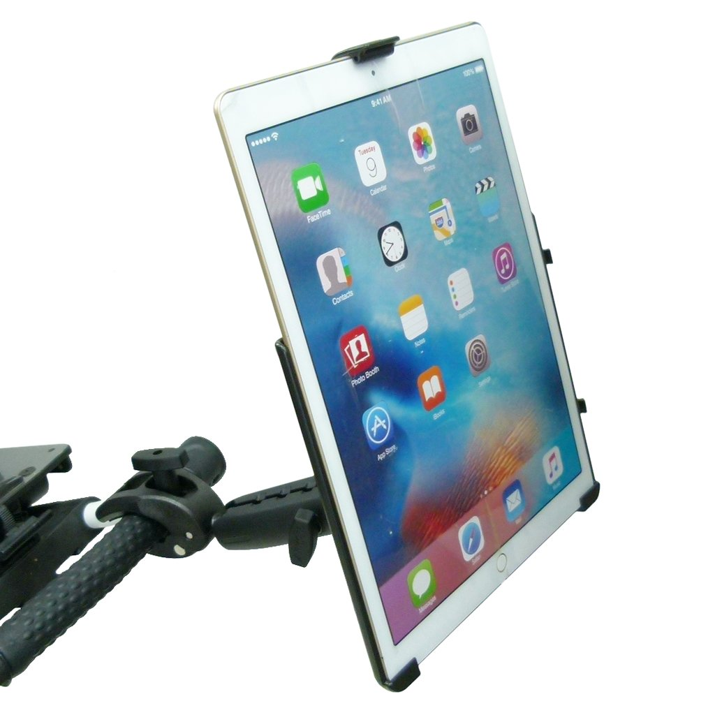 "Extended Dedicated Golf Trolley Robust Clamp Tablet Holder for iPad PRO 12.9"" (sku 49628) - BuyBits Ltd UK"