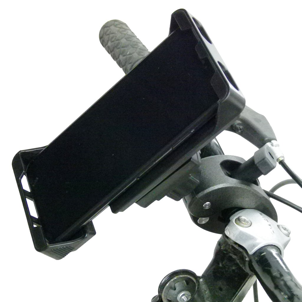 "Adjustable Robust Bike Clamp Mount with Rain Cover for iPhone 8 (4.7"") (sku 49740) - BuyBits Ltd UK"