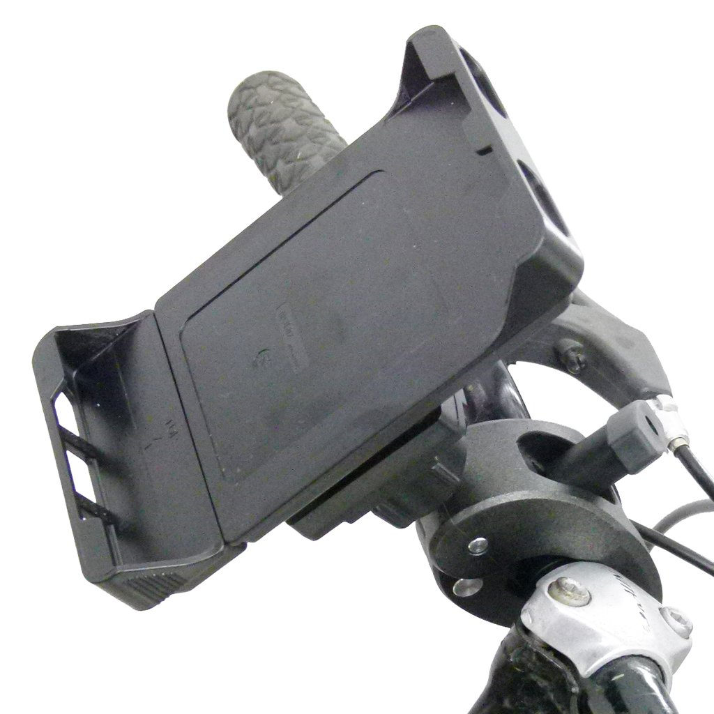 Adjustable Robust Bike Clamp Mount with Rain Cover for Samsung Galaxy S9 PLUS (sku 49755) - BuyBits Ltd UK