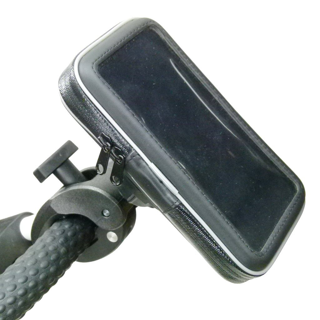 Waterproof Robust Golf Clamp Mount for Samsung Galaxy Note 10 PLUS (sku 49872) - BuyBits Ltd UK