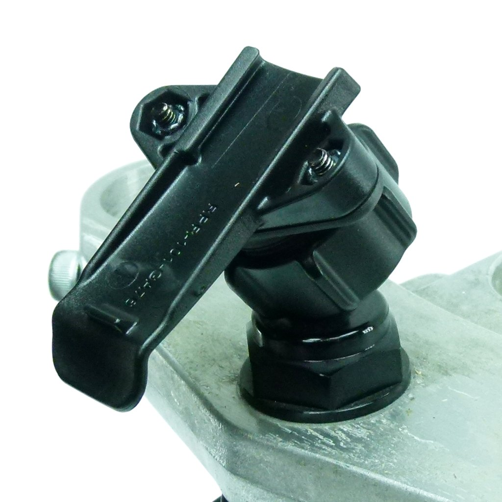 Yoke 50 Nut Motorbike Mount & Dedicated Cradle for Garmin Rino 610 - 650 - 655 - 700 - 750 - 755 (sku 50028) - BuyBits Ltd UK