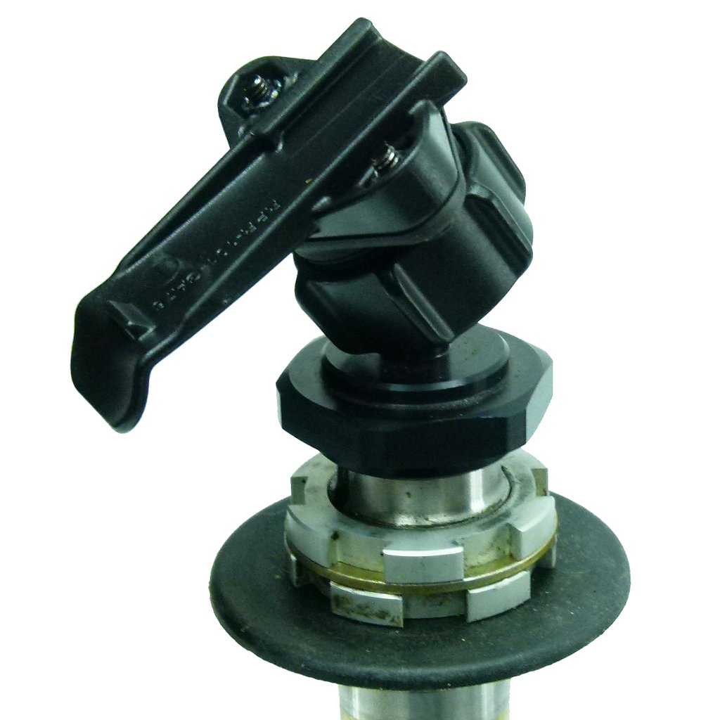 Yoke 60 Nut Motorbike Mount & Dedicated Cradle for Garmin Alpha devices (sku 50031) - BuyBits Ltd UK