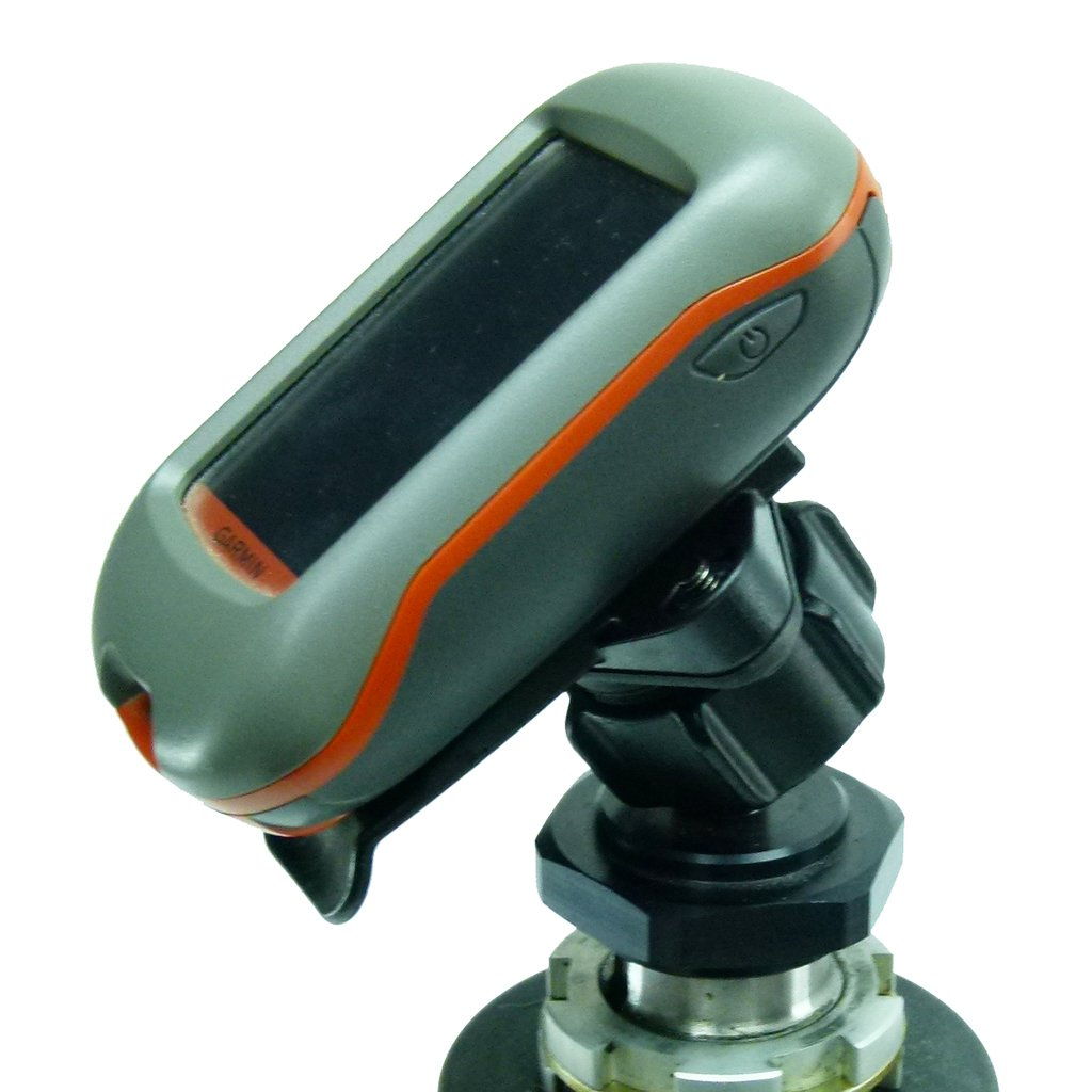 Yoke 60 Nut Motorbike Mount & Dedicated Cradle for Garmin eTrex 10 - 20 - 30 (sku 50035) - BuyBits Ltd UK