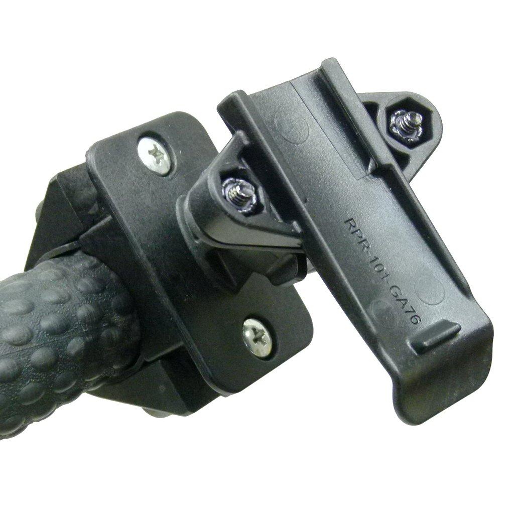 Golf Trolley Handlebar Mount & Dedicated Cradle for Garmin GPSMAP 62 Series (sku 50084) - BuyBits Ltd UK