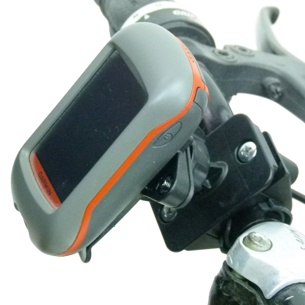 Bicycle Handlebar Mount & Dedicated Cradle for Garmin Approach G3 - G5 (sku 50104) - BuyBits Ltd UK