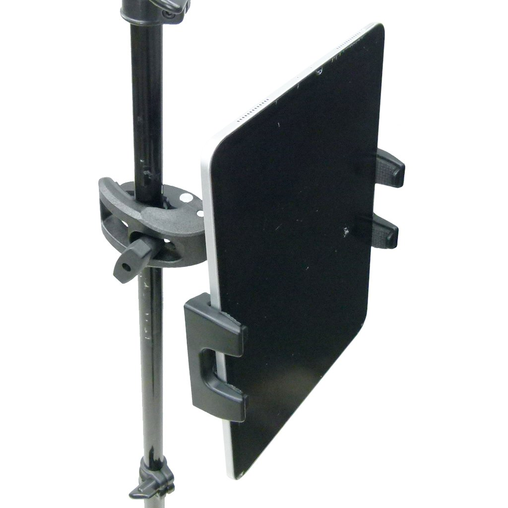 Robust Clamp Music - Mic Stand Adjustable Mount for Apple iPad and iPhone (sku 50165) - BuyBits Ltd UK