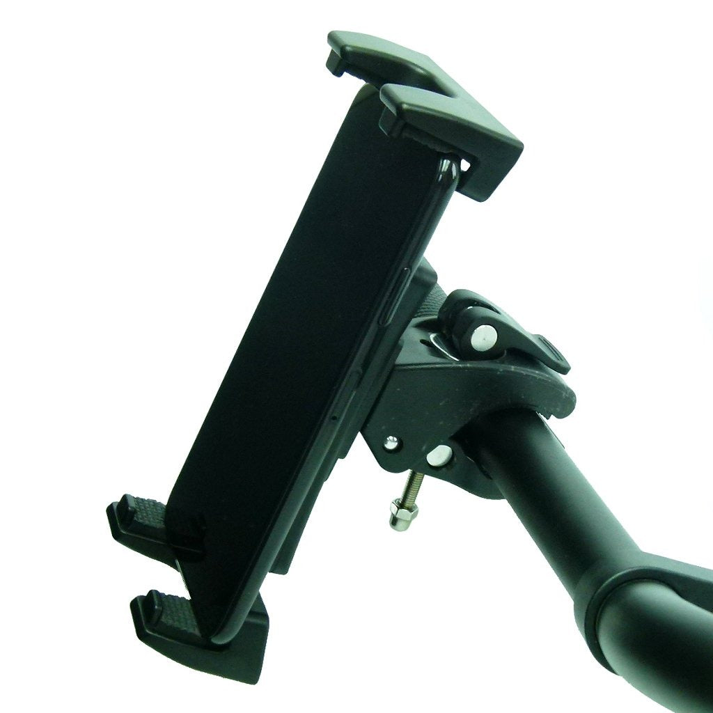 Quick Fix Cross Trainer Clamp Mount & Adjustable Cradle for Apple iPad and iPhone (sku 50176) - BuyBits Ltd UK