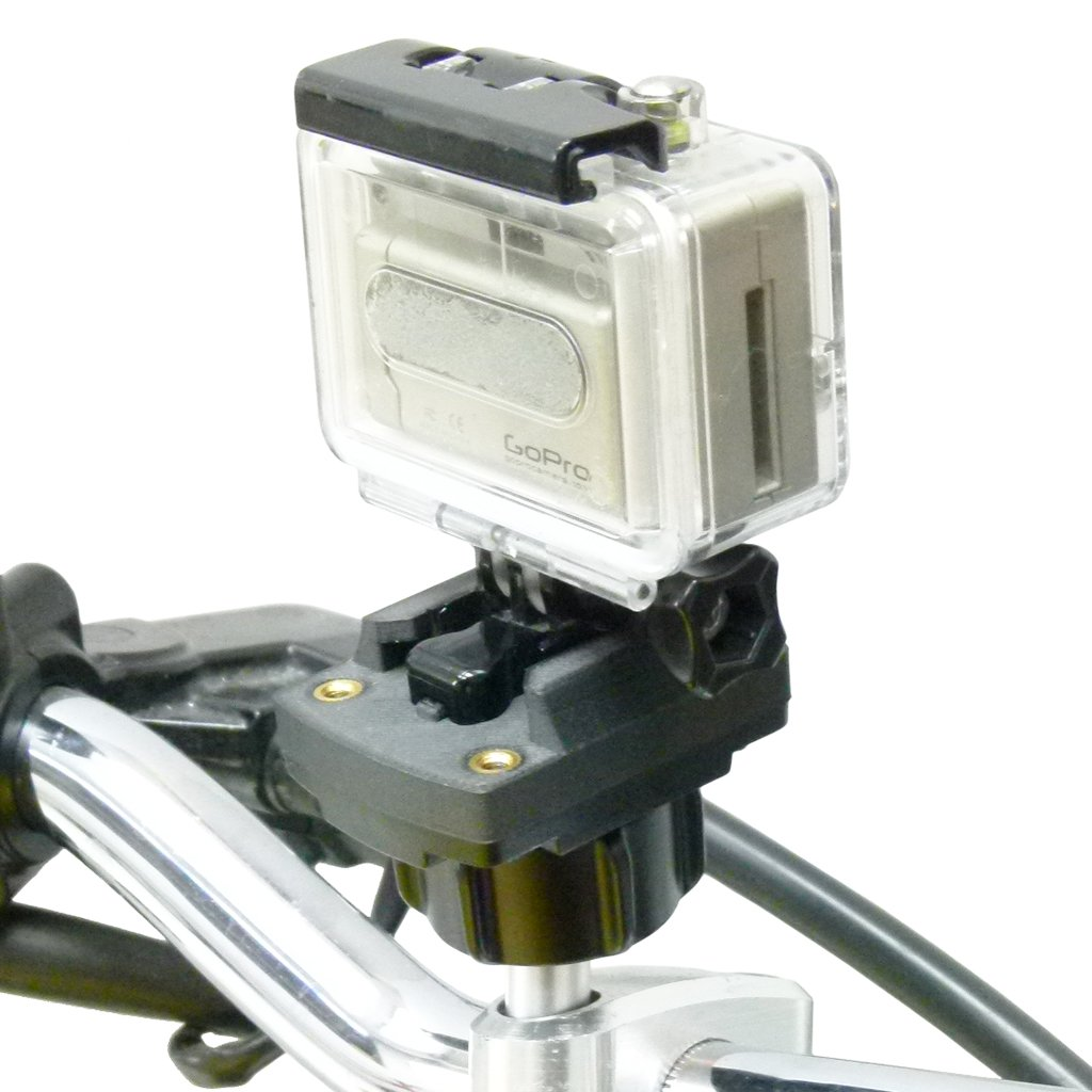 M8 Motorcycle Handlebar Mount GoPro Camera Plate adapter (sku 50187) - BuyBits Ltd UK