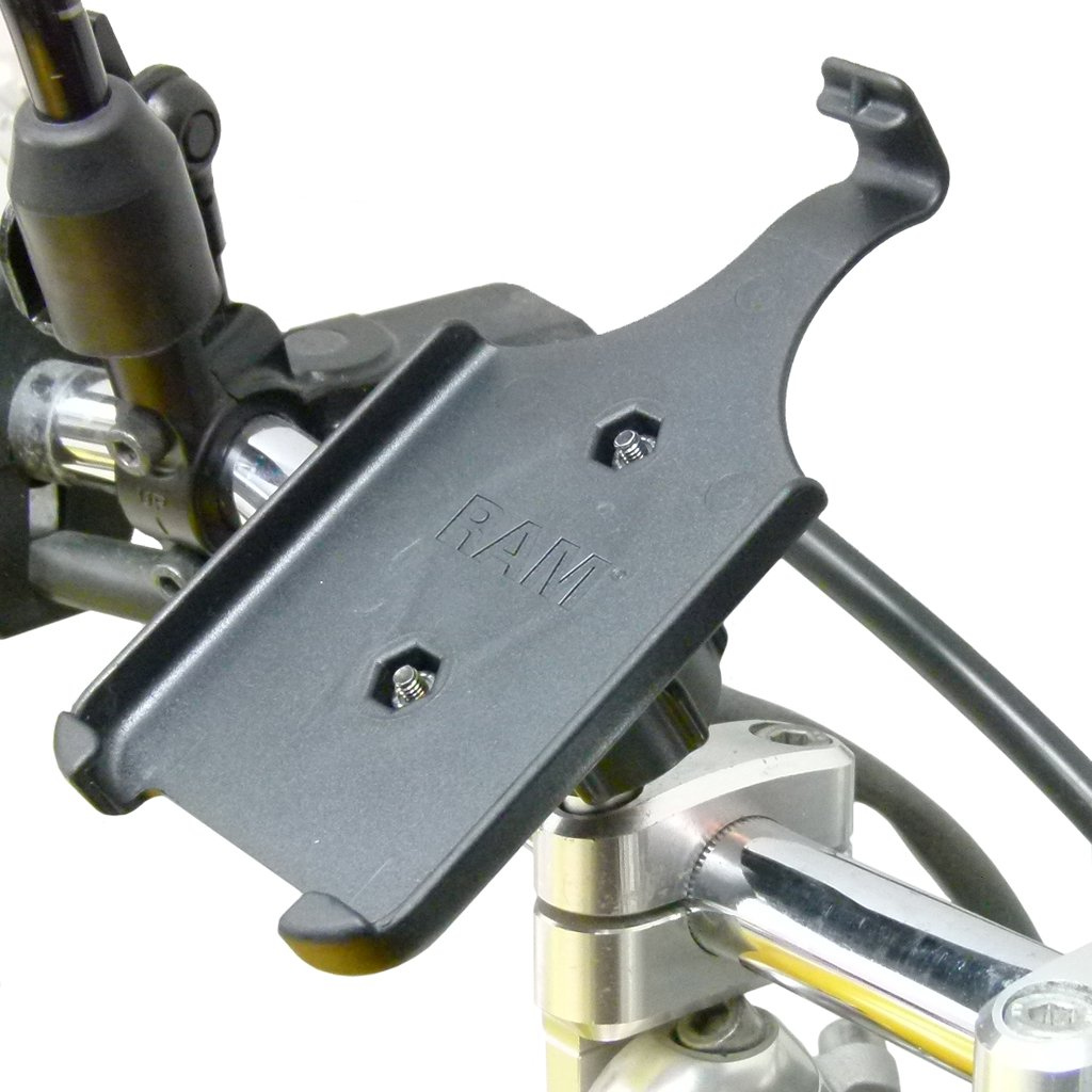 M8 Motorcycle Handlebar Mount with Dedicated RAM Holder for iPhone 11 (sku 50290) - BuyBits Ltd UK